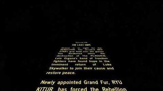 Star Wars Episode VIII; The Last Hope Crawl-1579230914