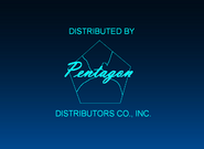 Pentagon Distributors Co., Inc. 1950-1956 Logo