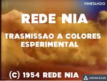 Rede Nia Experimental Colour