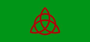 Triquetra Coven flag