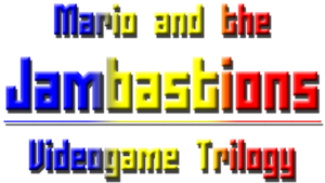 Mario and the Jambastions Videogame Trilogy Logo