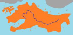 Iteru River route