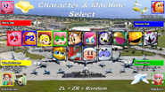 KARZG Character and Machine Select
