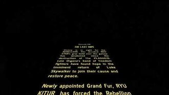 Star Wars Episode VIII; The Last Hope Crawl-1579230965