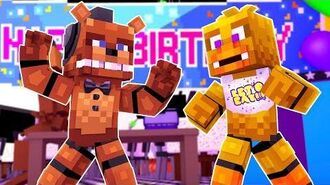 FREDDY VS CHICA Minecraft FNAF Roleplay