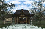 Hakurei Shrine SSB4 Stage