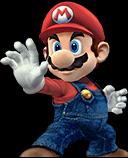Mario Character Selection Portraits
