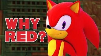 Why Is Sonic Red? Let's Talk! Sasso Studios