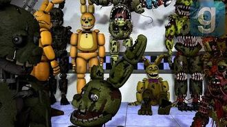 Gmod FNAF FNaF 3 Pill Pack Part 2 (Update) Ignited Springtrap Is Here!