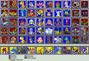 Digimon rumble arena 3 character select updated by mrmann123-d4ujrbj