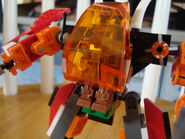 Iron Drone in Flame Thrower