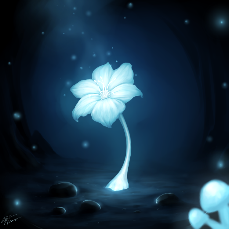 Echo flower by willlowarts-d9o20ns