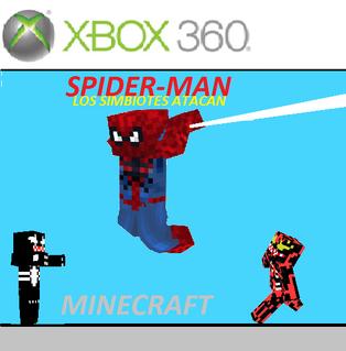 MINECRAFT SPIDER-MAN LOS SIMBIOTES ATACAN PORTADA 1