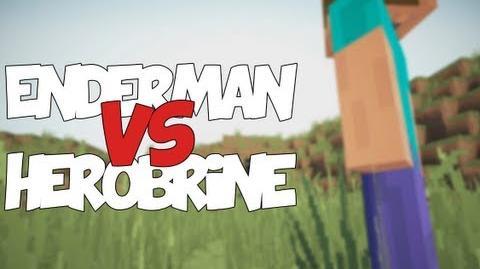 Enderman vs Herobrine