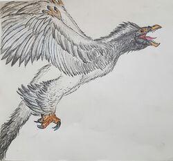 Sicarapax Render by Rathalosaurus rioreurensis