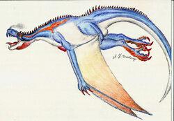 Meraze by Rathalosaurus rioreurensis