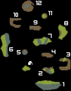 Overgrown Shrine Map