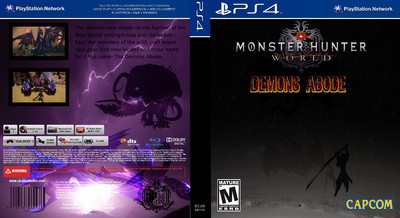 Monster Hunter World Demons Abode Title Cover by TheElusiveOne