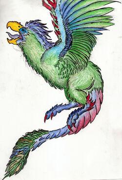 Wairudokados Artwork by Rathalosaurus rioreurensis