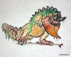 Mikiragaan by Rathalosaurus rioreurensis