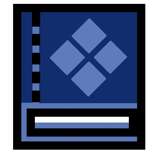 File:Book Icon Special Blue.png