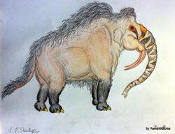 Gajuthanu render by Rathalosaurus rioreurensis
