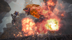 Aggressor Bazelgeuse Screenshot by Rathalosaurus rioreurensis