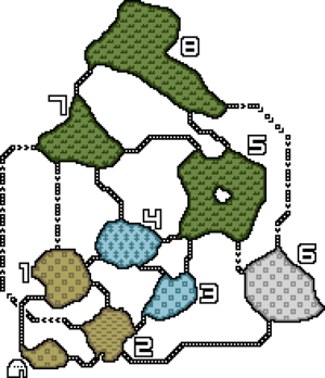 Salt Plains Map