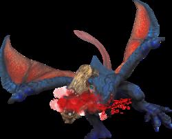 Toxicrobber Gypceros Render by Rathalosaurus rioreurensis