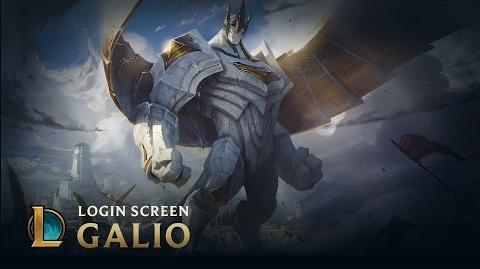 Galio, the Colossus Login Screen - League of Legends