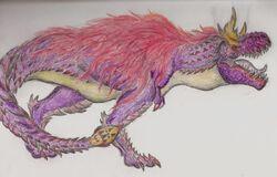 Tirraukronus Artwork by Rathalosaurus rioreurensis