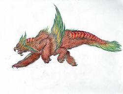 Heoleoth Artwork by Rathalosaurus rioreurensis