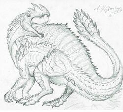 Solmaron Render by Rathalosaurus rioreurensis