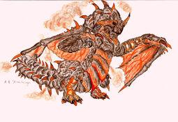 Firepower Black Gravios by Rathalosaurus rioreurensis