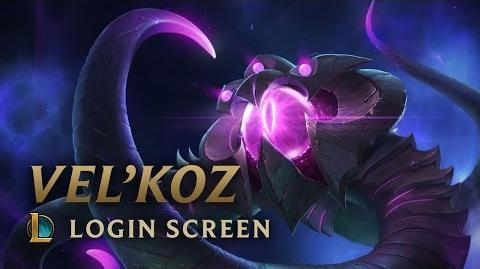 Vel'Koz, the Eye of the Void Login Screen - League of Legends