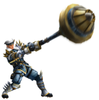 Frontier Hammer Equipment Render