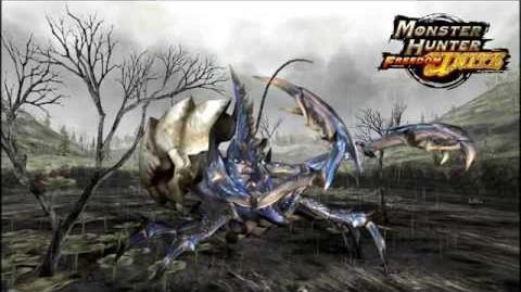 Monster Hunter Freedom Unite ~ Poison Swamp Crab General Shogun Ceanutaur (OST)