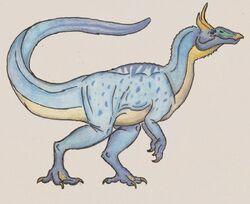 Anatops Artwork by Rathalosaurus rioreurensis