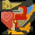 Crimson Qurupeco Fanon Icon