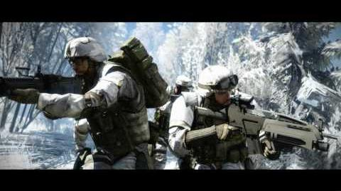 Battlefield Bad Company 2 Soundtrack - Snowy Mountains