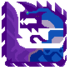 Draconic Glavenus Icon by MonsterHunterFlacko
