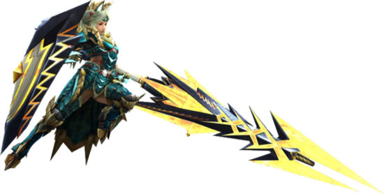 Gunlance Equipment Render