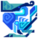 Cerulean Qurupeco Icon by Joe333red