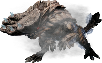 Tempered Barroth Render by TheElusiveOne