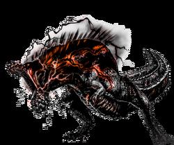 Savage Obsidian Deviljho by Chaoarren