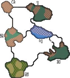 Drowning Cliffs Map