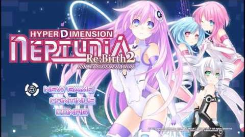 Hyperdimension Neptunia Re;Birth2 Sisters Generation - Neptune Mk2