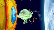Космическая одиссея Пин в скафандре