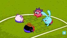 Футбол игра в крестики-нолики