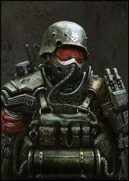 Victerian troops